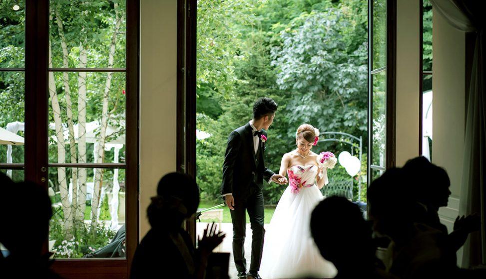 札幌の結婚式場|ガーデンウエディング|ジャルダンドゥボヌール|C