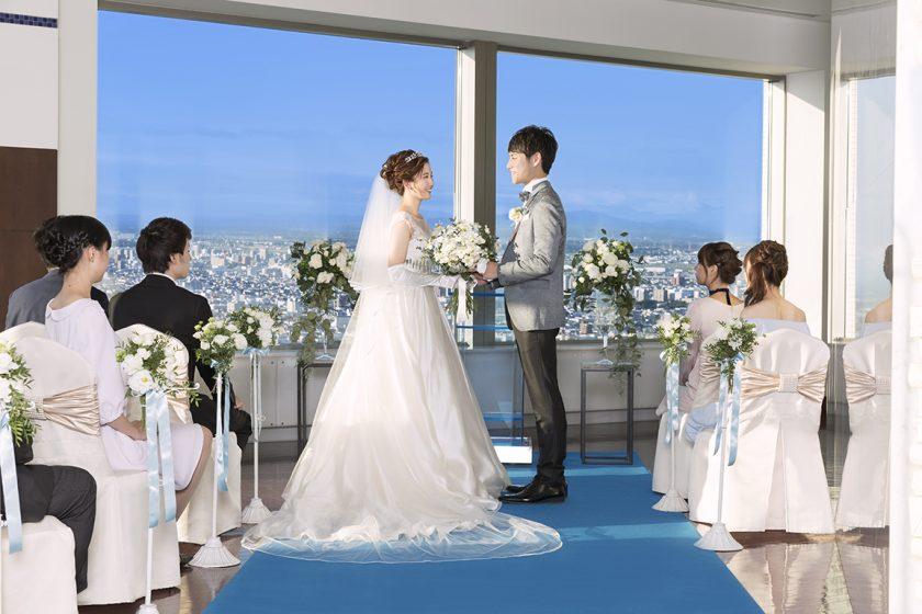 札幌の人気結婚式場|JRタワーホテル日航札幌|Q