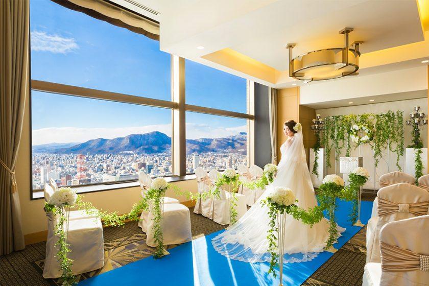 札幌の人気結婚式場|JRタワーホテル日航札幌|B
