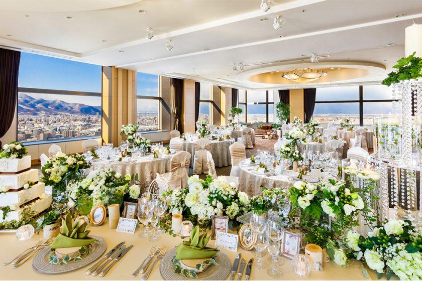 札幌の人気結婚式場|JRタワーホテル日航札幌|D