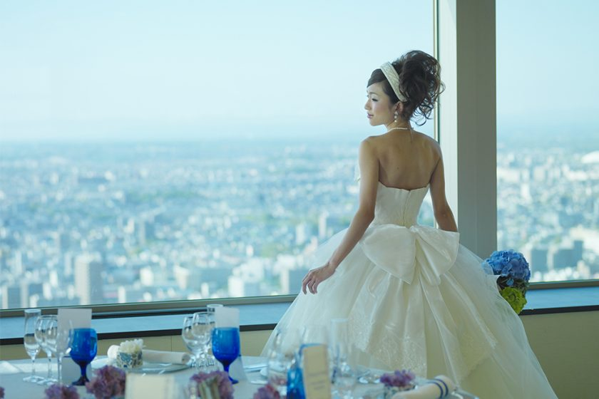 札幌の人気結婚式場|JRタワーホテル日航札幌|E