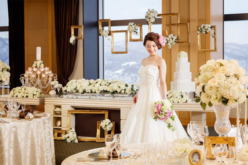 札幌の人気結婚式場|JRタワーホテル日航札幌|M