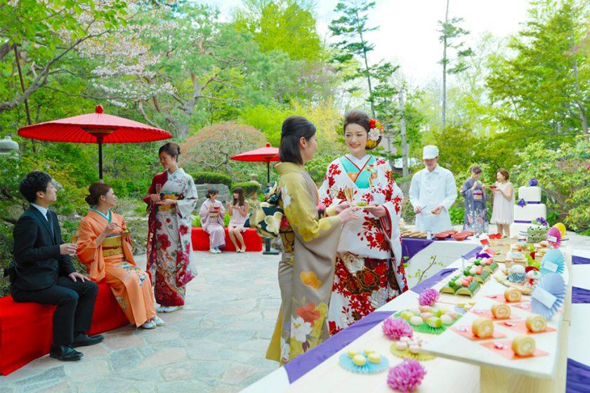 札幌の人気結婚式場|エルムガーデン|a