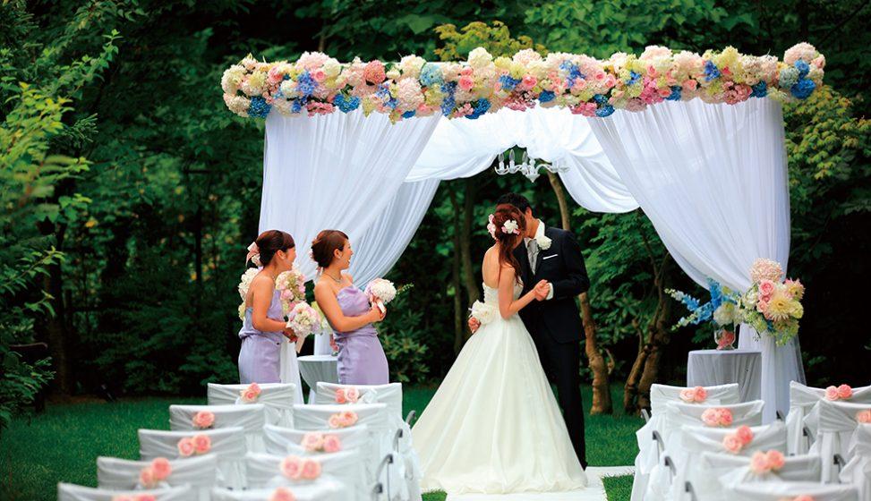 札幌の結婚式場|ガーデンウエディング|ジャルダンドゥボヌール|B