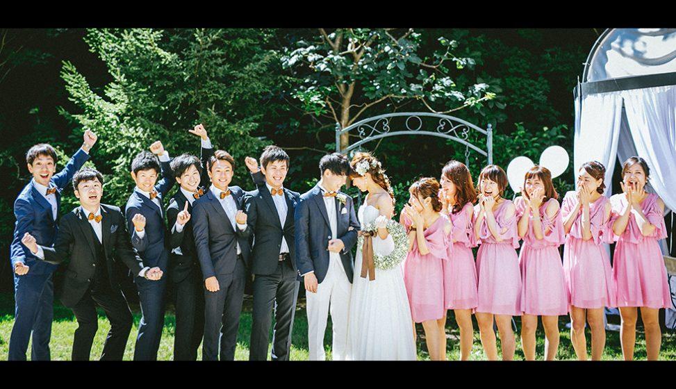 札幌の結婚式場|ガーデンウエディング|ジャルダンドゥボヌール|E