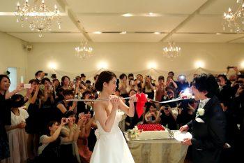 レストラン・ゲストハウスの結婚式演出