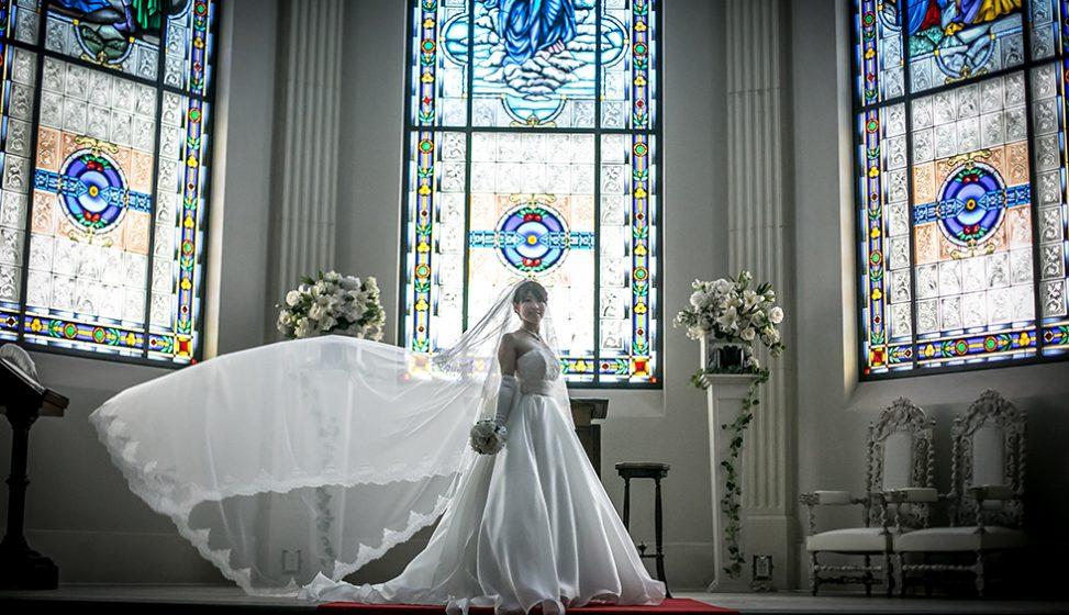 札幌の人気結婚式場|ローズガーデンクライスト教会|G