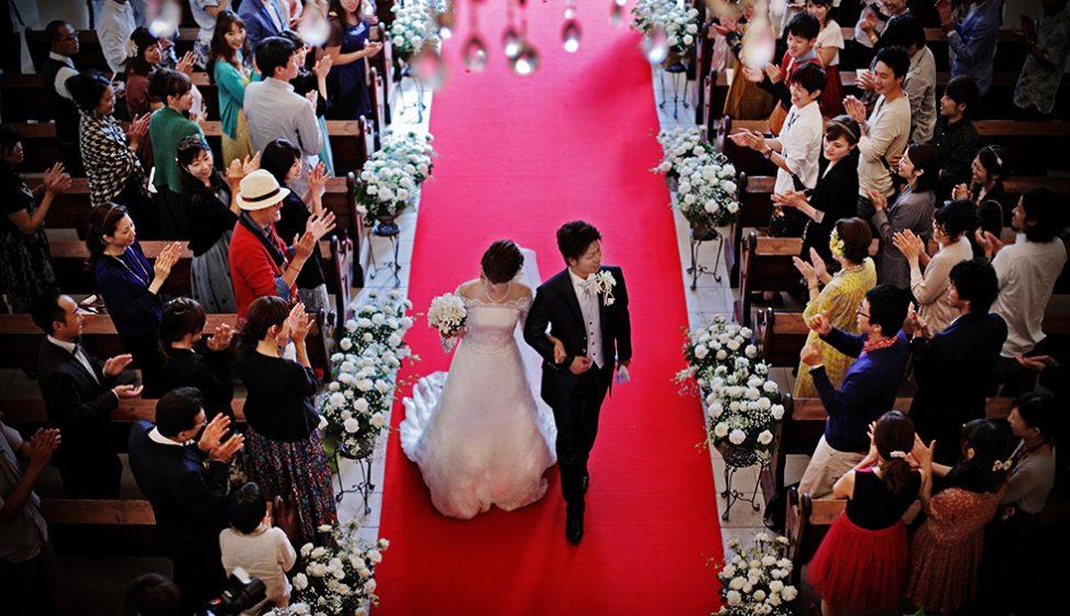 札幌の人気結婚式場|ローズガーデンクライスト教会|H