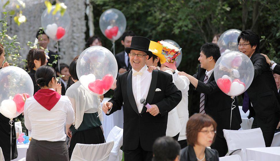 札幌の結婚式場|ガーデンウエディング|ジャルダンドゥボヌール|I