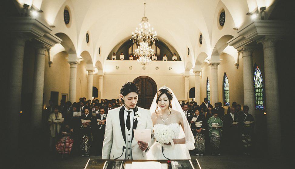 札幌の人気結婚式場|ローズガーデンクライスト教会|J