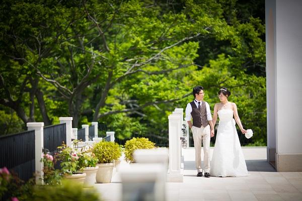 ウエディングフォト|ローズガーデンクライスト教会|札幌コンシェル