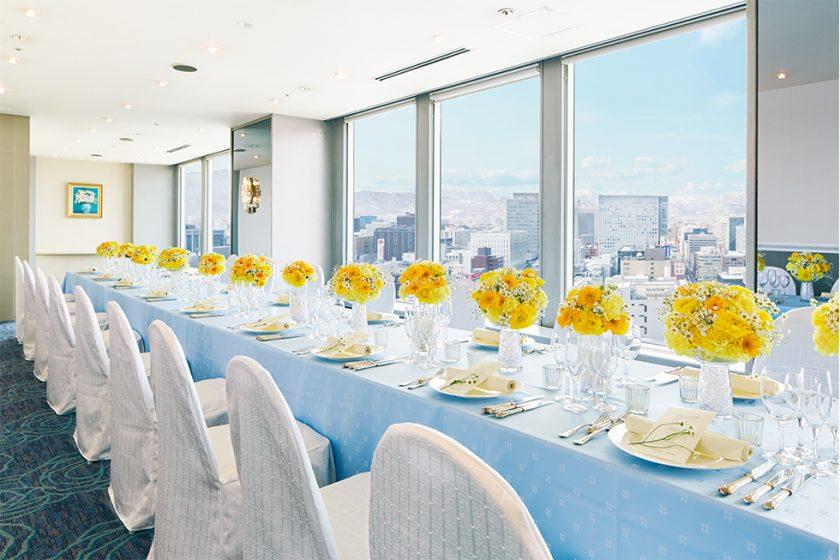 札幌の人気結婚式場|札幌全日空ホテル|J