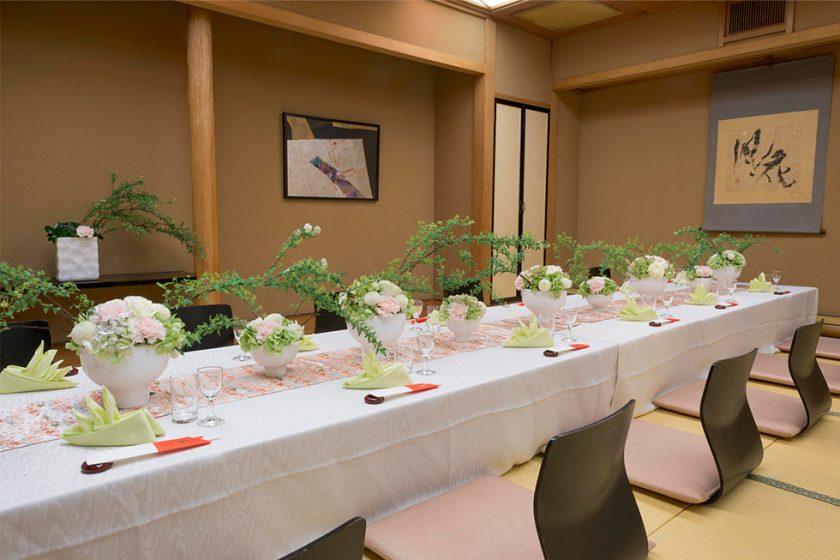 札幌の人気顔合わせ会場|日本料理「花遊膳」|ジャスマックプラザ|B