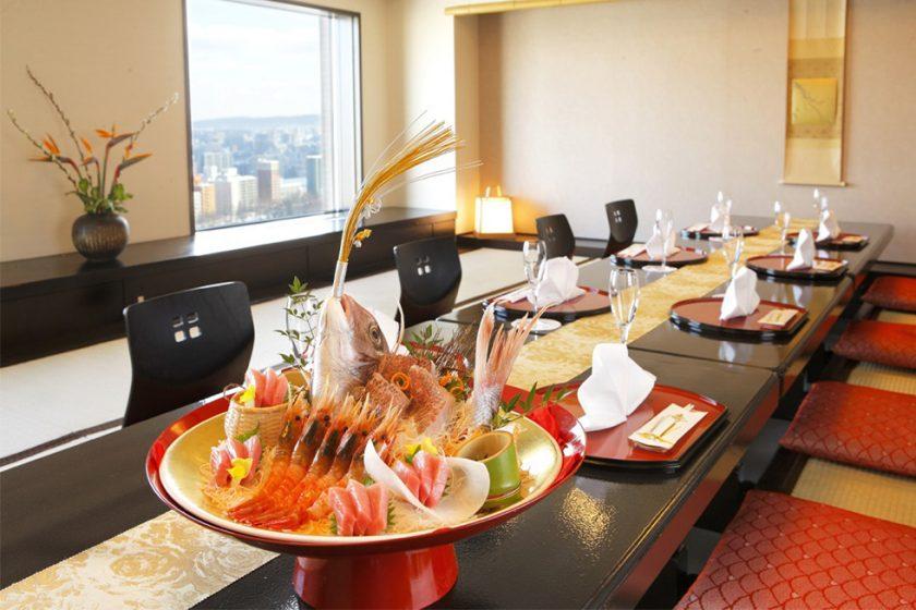 札幌の人気顔合わせ会場|日本料理「和乃八窓庵」|プレミアホテル中島公園|B