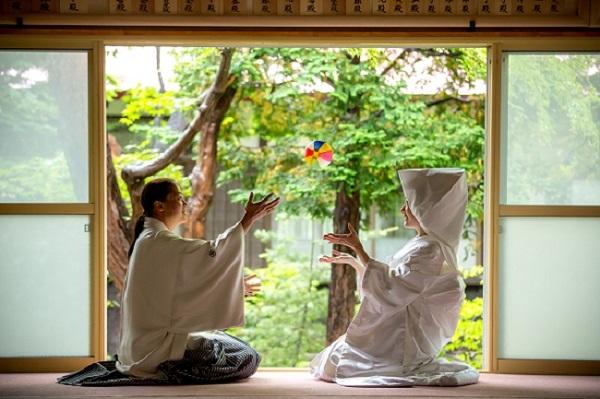 ウエディングフォト 神社 札幌コンシェル
