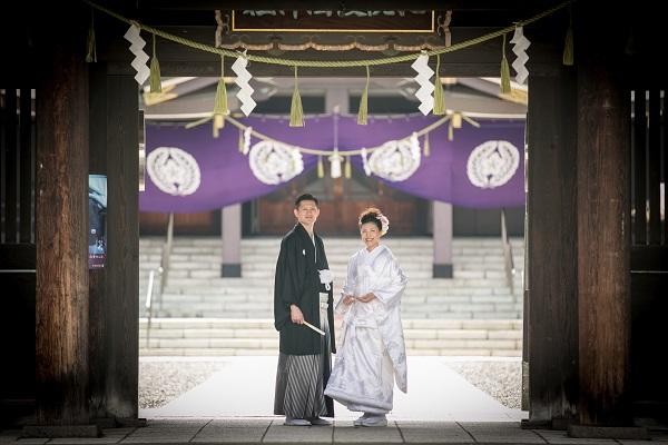 ウエディングフォト|神社|札幌コンシェル