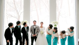 冬の結婚式|北海道札幌