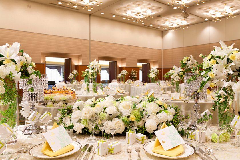 札幌の人気結婚式場|ホテル札幌ガーデンパレス|E