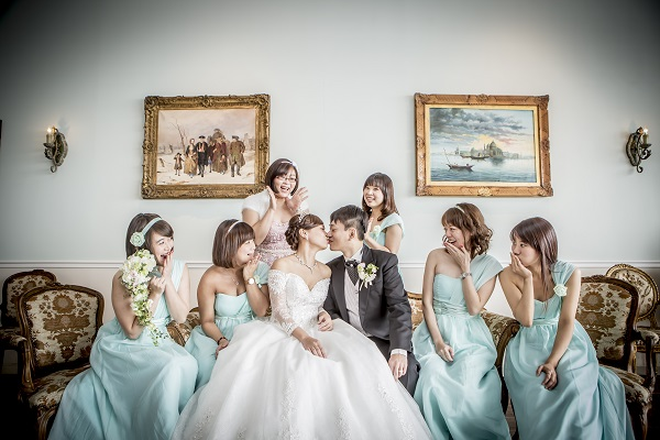 ブライズメイド|結婚式|ドレス