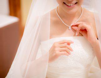 手先が素敵な花嫁様