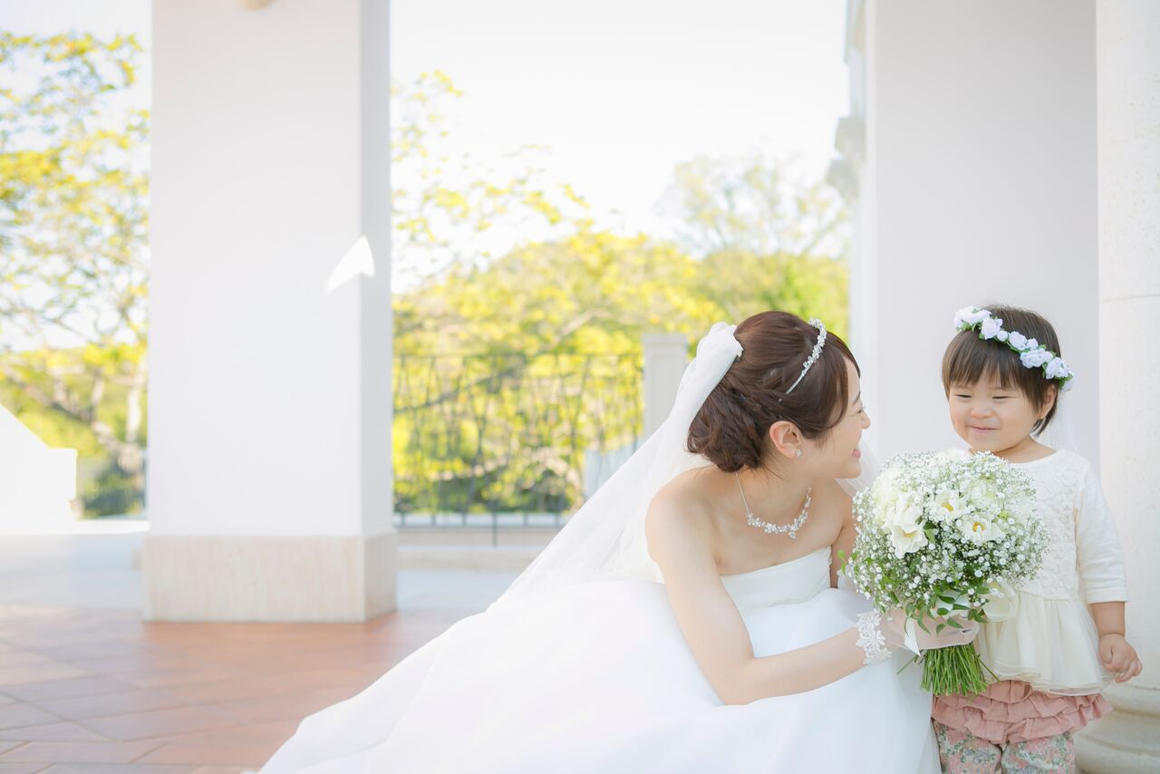 花嫁様とこども