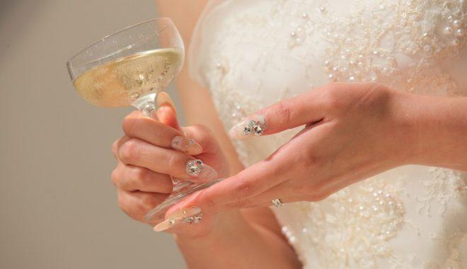 花嫁|ネイル|グランマニエ|ウェデイングドレス
