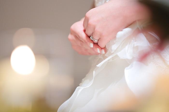 花嫁|ネイル|ウェデイングドレス