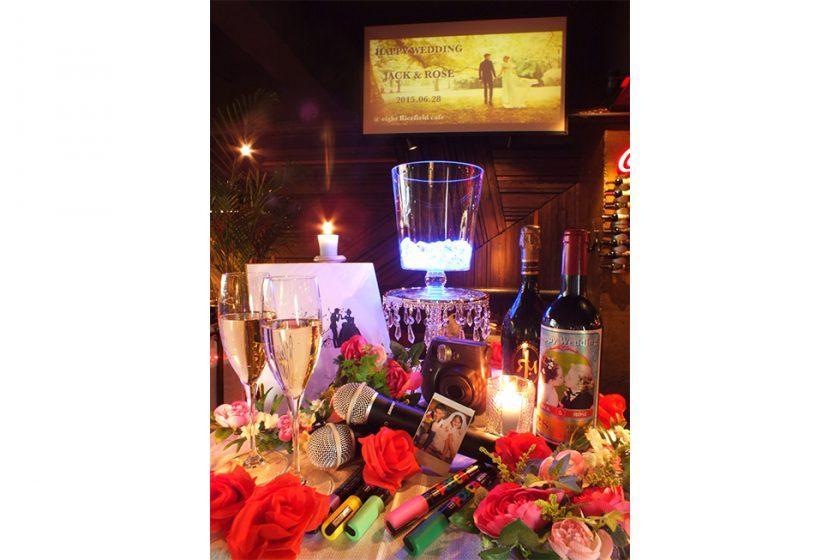 札幌の人気結婚式二次会|エイトライスフィールドカフェ|F