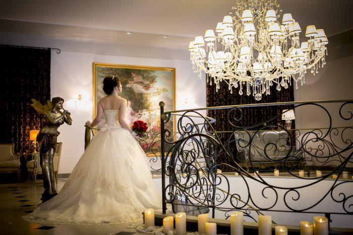 ウエディングドレス姿の花嫁様