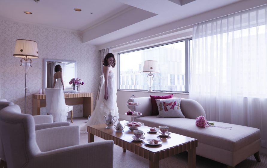 センチュリーロイヤルホテルのブライズルーム