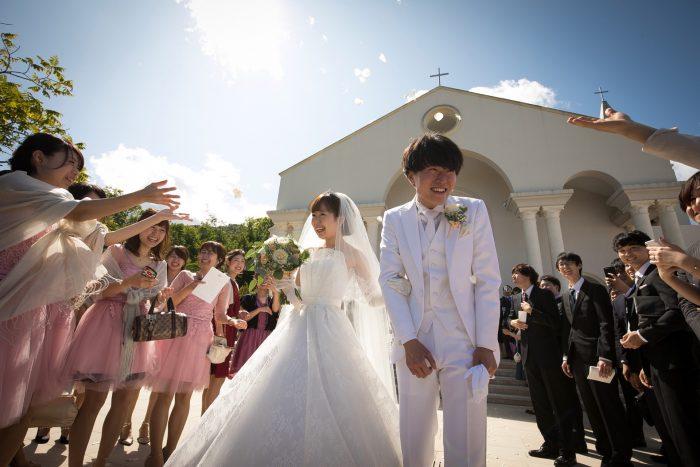 花嫁の声|ピエトラセレーナ|フラワーシャワー