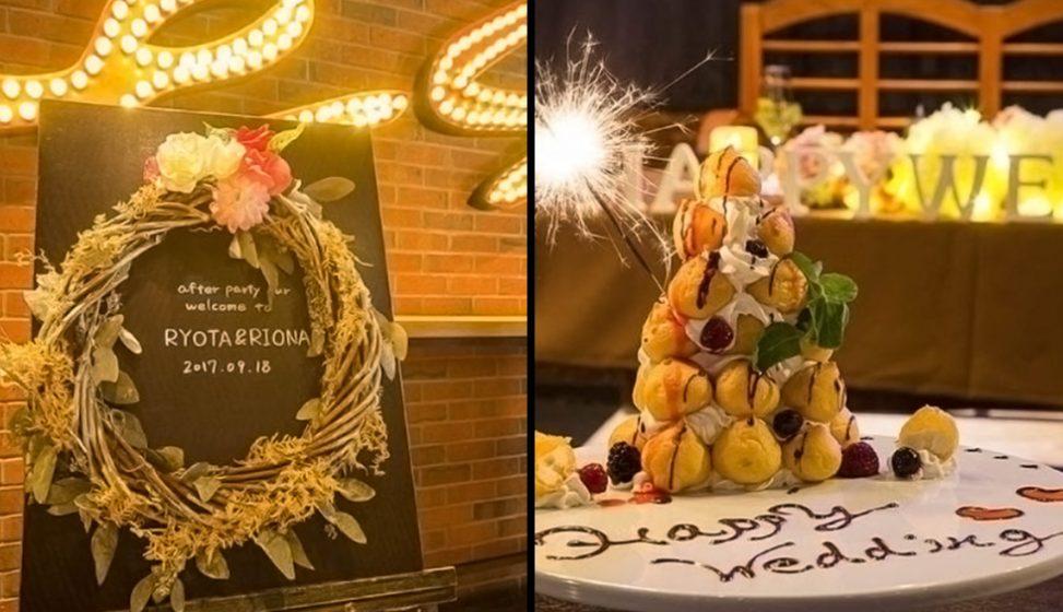 札幌の人気結婚式二次会 フレアバーエス D