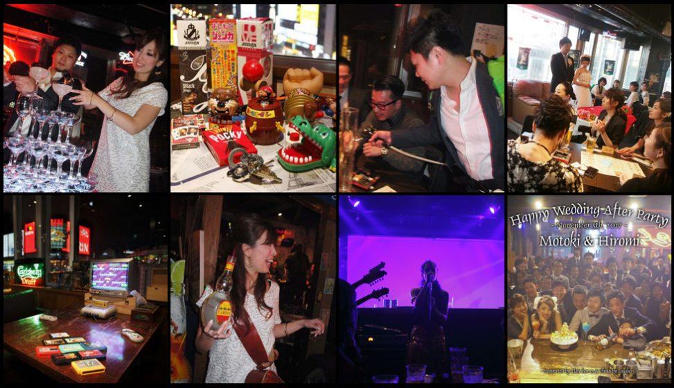 札幌の人気結婚式二次会 フレアバーエス J