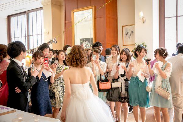 結婚式を楽し参列ゲストの皆様