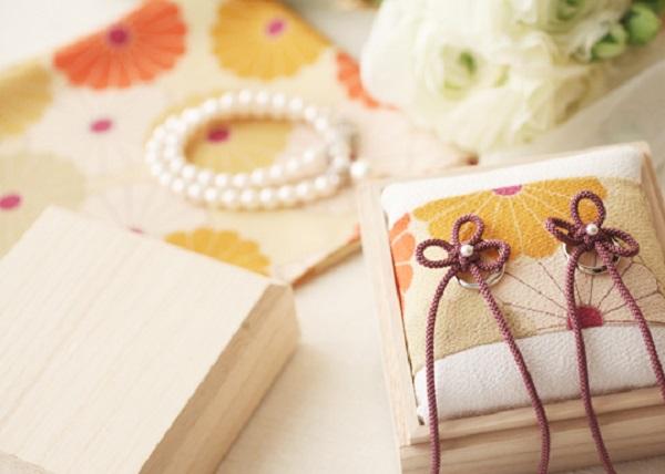 リングピロー|結婚式|札幌コンシェル