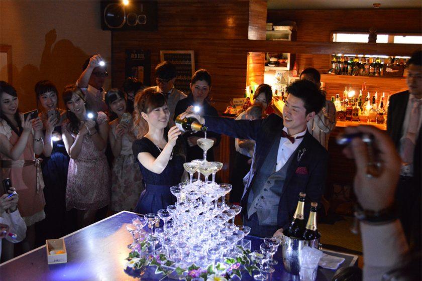 札幌の人気結婚式二次会|中目卓球ラウンジ札幌分室|B