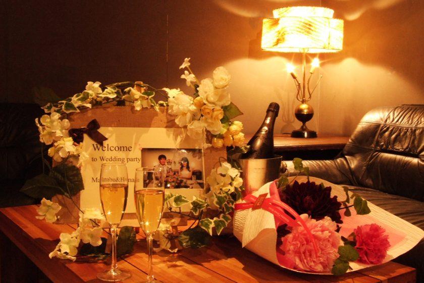 札幌の人気結婚式二次会|中目卓球ラウンジ札幌分室|E