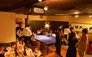 札幌の人気結婚式二次会|中目卓球ラウンジ札幌分室|K