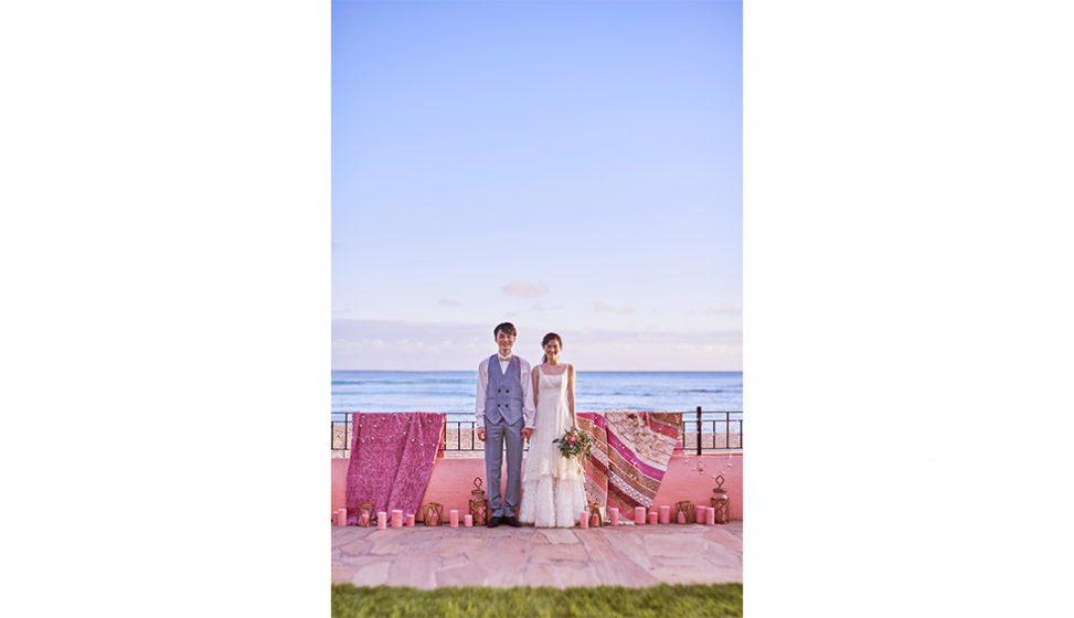 人気リゾート結婚式 ロイヤル ハワイアン ウェディング I