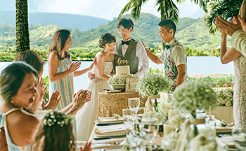 人気リゾート結婚式|アロハ・ケ・アクア・チャペル|L