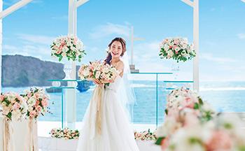 人気リゾート結婚式|コーラルヴィータ・チャペル|L