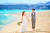 人気リゾート結婚式|古宇利島 空と海の教会|N