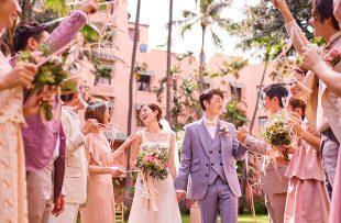 人気リゾート結婚式|ロイヤル ハワイアン ウェディング|A