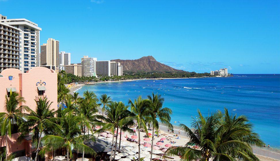 人気リゾート結婚式 ロイヤル ハワイアン ウェディング B