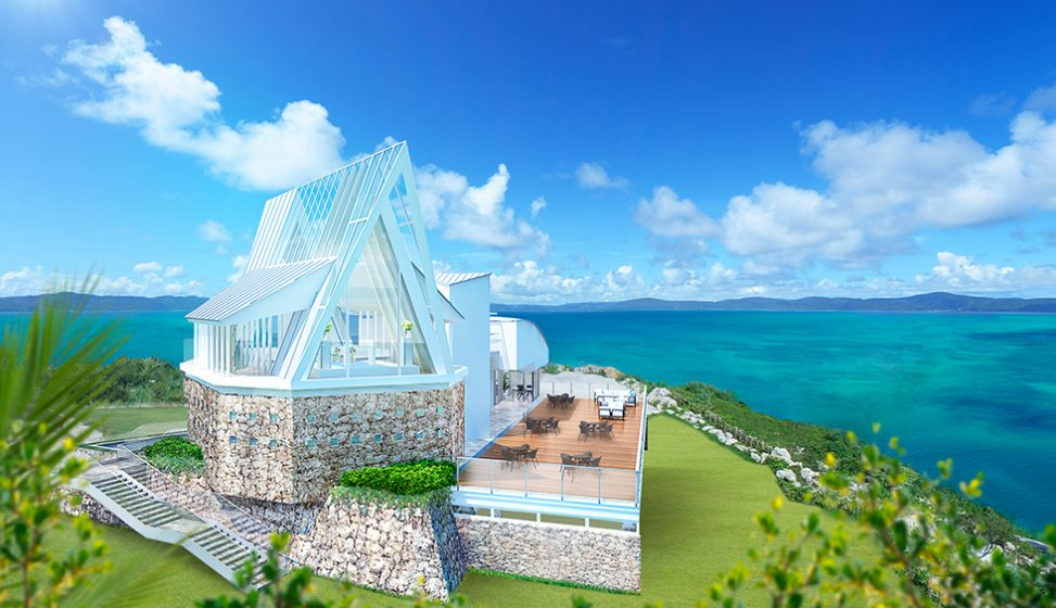 人気リゾート結婚式|古宇利島 空と海の教会|E