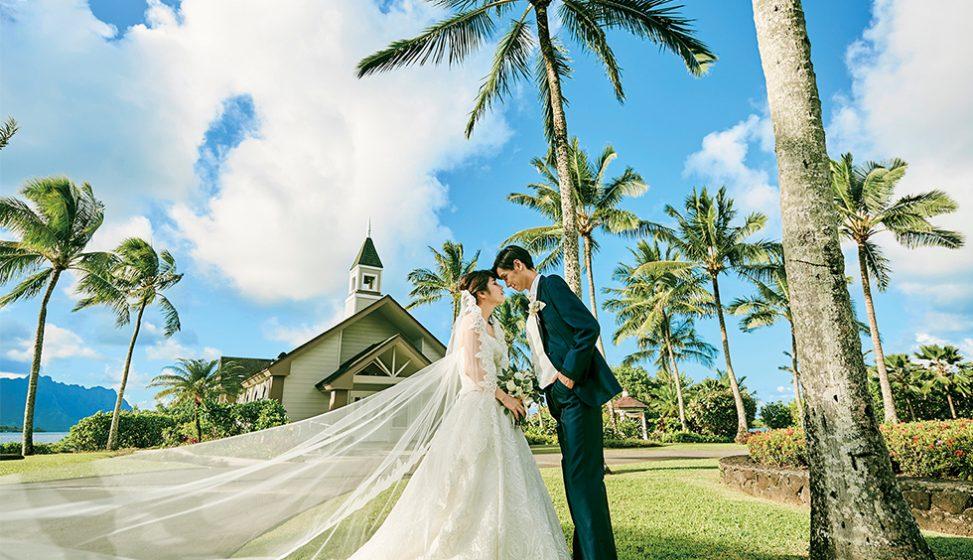 人気リゾート結婚式|アロハ・ケ・アクア・チャペル|F