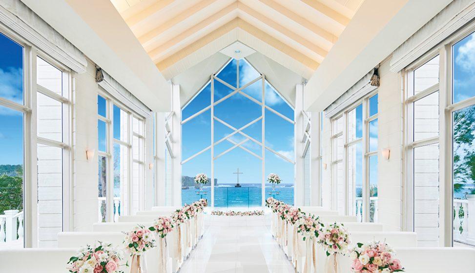 人気リゾート結婚式|コーラルヴィータ・チャペル|F