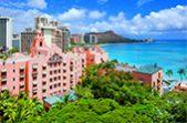 人気リゾート結婚式 ロイヤル ハワイアン ウェディング M