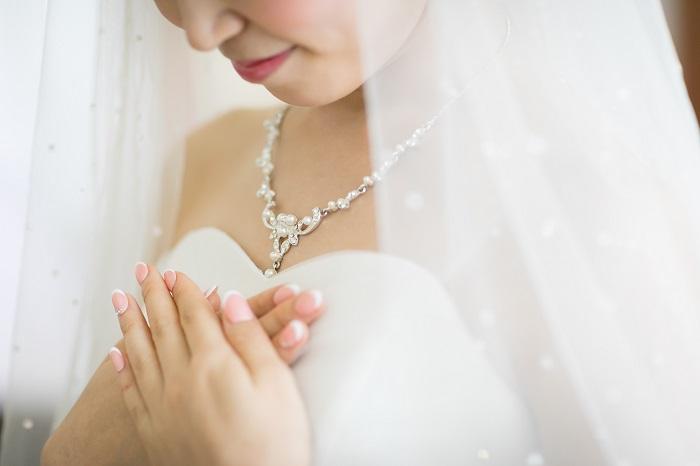 ピンクネイル|花嫁|結婚式