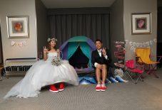 花嫁の声|ホテルオークラ|ツーショット